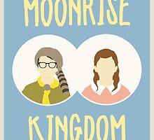 Moonrise Kingdom film poster by PolarDesigns