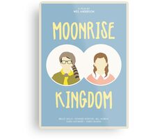 Moonrise Kingdom film poster Metal Print