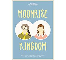 Moonrise Kingdom film poster Photographic Print
