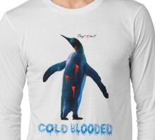 """COLDBLOODED"" Pengui-Cide Long Sleeve T-Shirt"