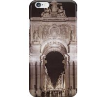 Rua Agusta Arch Lisbon Textured II iPhone Case/Skin