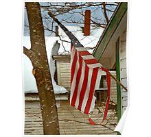 Daddy Patriotism, Round Pond Maine Poster