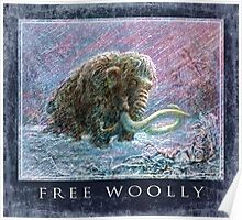 Free Woolly Mammoth from Ice Age Poster