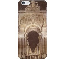 Rua Agusta Arch Lisbon Textured iPhone Case/Skin