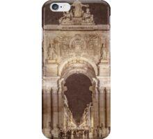 Rua Agusta Arch Lisbon Textured iPhone Case/Skin