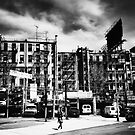 Chinatown - Storm Clouds - New York City by Vivienne Gucwa
