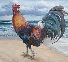 Pensive Gait (Rooster 4) by Joe Helms