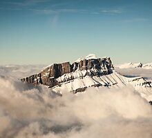 Above the Clouds, French Alps by Joshua McDonough