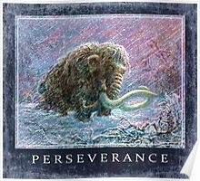 Ice Age Woolly Mammoth Perseverance  Poster