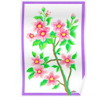 FLOWERING SHRUB Poster
