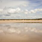 Beach Clouds, Brittany - France by mcdonojj