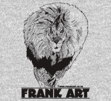 Light Lion T-Shirt by Frank Louis Allen (frankart.co.uk)  One Piece - Long Sleeve