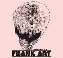 Light Lion T-Shirt by Frank Louis Allen (frankart.co.uk)  Kids Clothes