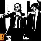 Larry David Pulp Fiction by jritucci