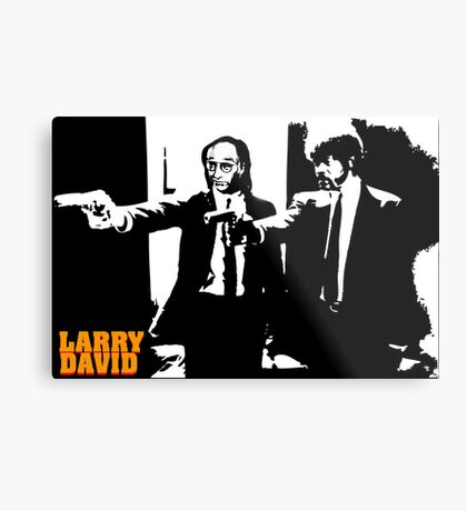 Larry David Pulp Fiction Metal Print