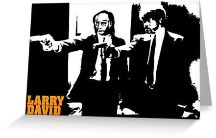 Larry David Pulp Fiction by jritucci