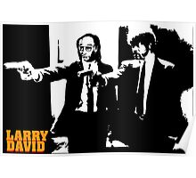 Larry David Pulp Fiction Poster