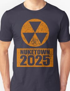 CALL OF DUTY BLACK OPS 2 - NUKE TOWN 2025 - DISTRESSED LOOK T-Shirt