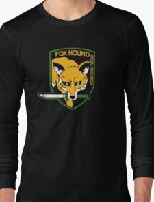 Metal Gear Solid - Fox Hound Long Sleeve T-Shirt