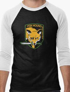 Metal Gear Solid - Fox Hound Men's Baseball ¾ T-Shirt
