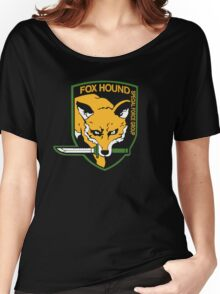 Metal Gear Solid - Fox Hound Women's Relaxed Fit T-Shirt