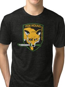 Metal Gear Solid - Fox Hound Tri-blend T-Shirt