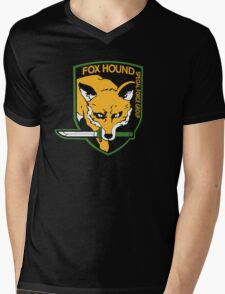 Metal Gear Solid - Fox Hound Mens V-Neck T-Shirt