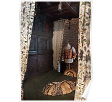 Gainsborough Old Hall- Bedroom Poster
