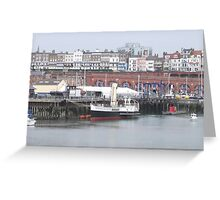 Medway Queen in Ramsgate (Sold in aid of Medway Queen restoration Greeting Card