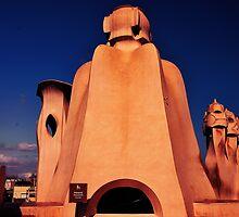 "Roof of ""LA PADRERA""  by amira"