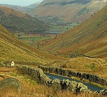 Brotherswater from the Kirkstone Pass by Jamie  Green