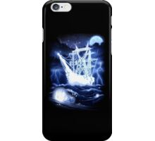 """""""High-Voltage Ghost Ship"""" iPhone Case/Skin"""