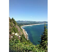 Oregon Overlook Photographic Print