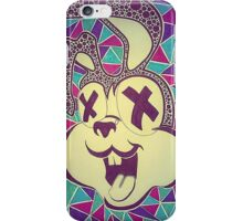 Colourful bunny iPhone Case/Skin