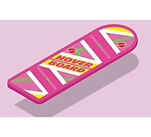 Back to the Future Hoverboard (floating) Photographic Print