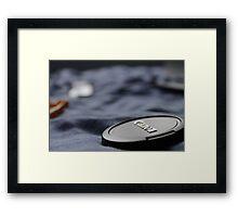 Canon Lens Cap Framed Print
