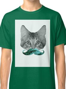 Facially-Blessed Feline Classic T-Shirt