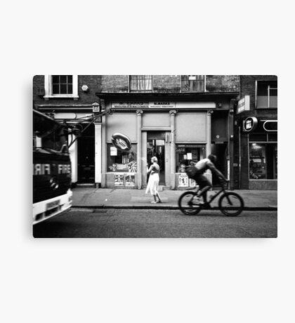 Untitled - London Canvas Print