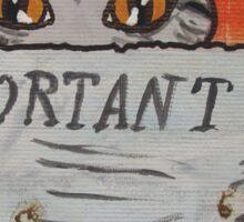 Pawprints Sticker