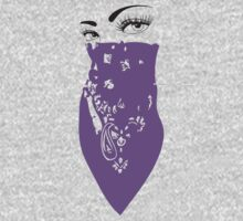 Purple Bandana by Maestro Hazer