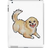 Chibi Golden Retriever iPad Case/Skin