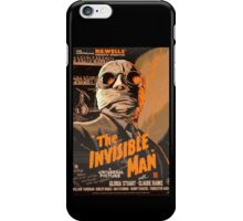 The Invisible Man - Retro iPhone Case/Skin
