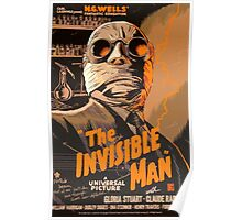 The Invisible Man - Retro Poster