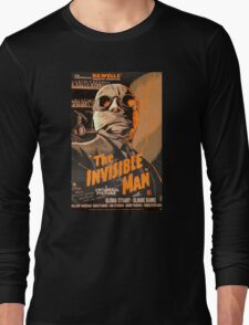 The Invisible Man - Retro Long Sleeve T-Shirt