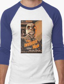 The Invisible Man - Retro Men's Baseball ¾ T-Shirt