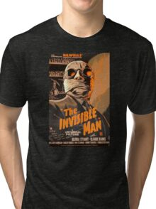 The Invisible Man - Retro Tri-blend T-Shirt