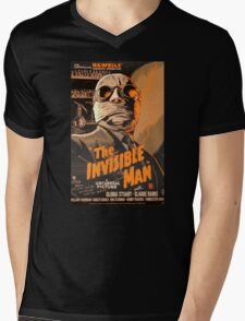 The Invisible Man - Retro Mens V-Neck T-Shirt