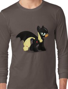 The Hero Ponyville Deserves Long Sleeve T-Shirt