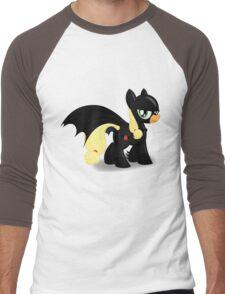 The Hero Ponyville Deserves Men's Baseball ¾ T-Shirt