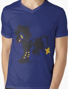 Luxray paint-splatter  Mens V-Neck T-Shirt